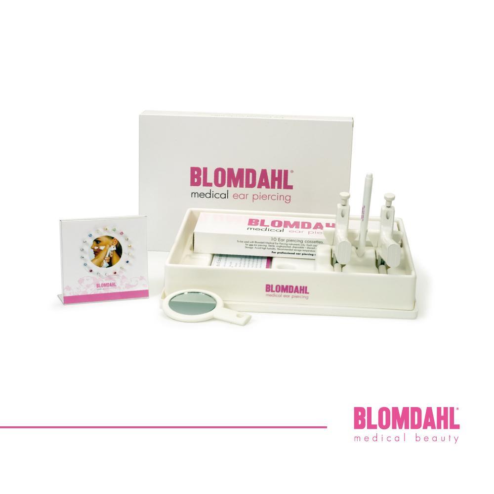Przekłuwanie uszu metodą BLOMDAHL